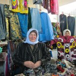 Lady at the Bazaar