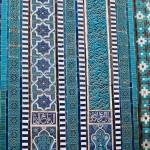 Panels at the Shah-i-Zinda