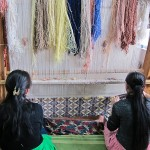 Women at the Silk Carpet Factory