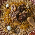 Samarkand Plov with Quail Eggs