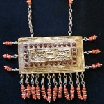 Traditional Bukhara Neckpiece with Corals