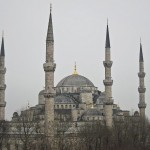 Blue Mosque from Turkoman Hotel