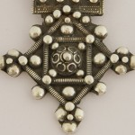 Niello Cross Pendant