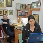 Nisha at the Abulkasim Medressa