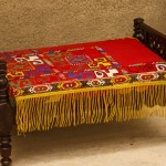 Kungrat Embroidered Mini Bed