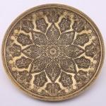 Bukhara Flower Brass Platter